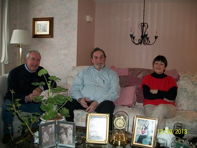 Jerry, Paul Genest, Lorraine Grady Christedes