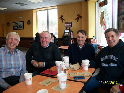 Bob Gilman, Jerry, Lee Fortier, & Connie Dubuque