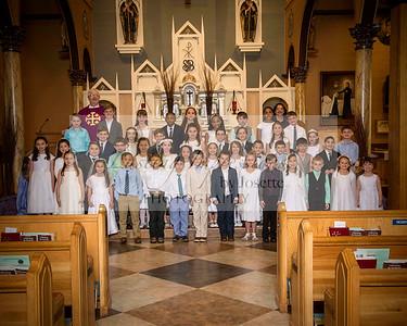 St John Berchmans communion 2018