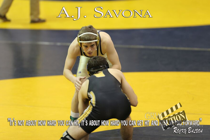 1 AJ Savona  with Quote