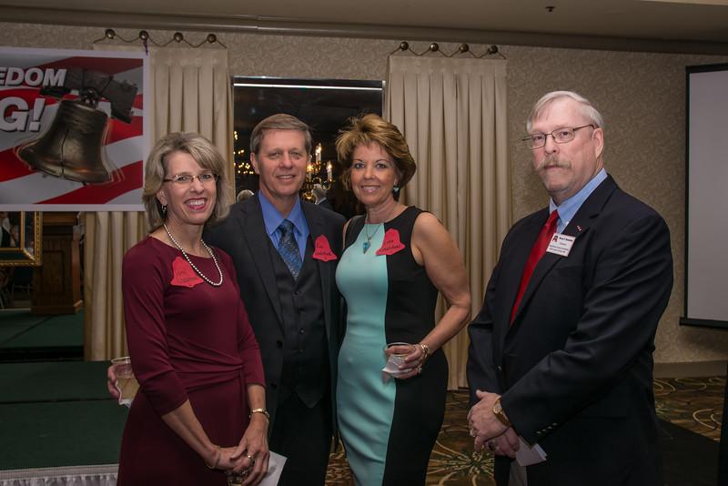 Carol Leaderbrand, Alan Leaderbrand,Lynne Leaderbrand and Bruce Buwalda