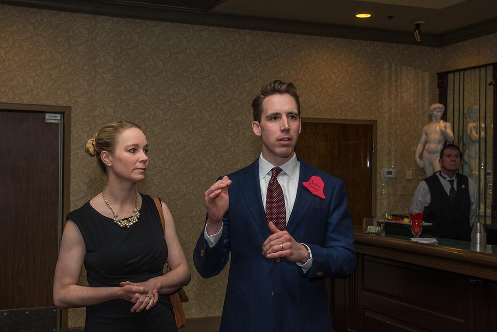 Erin and Josh Hawley
