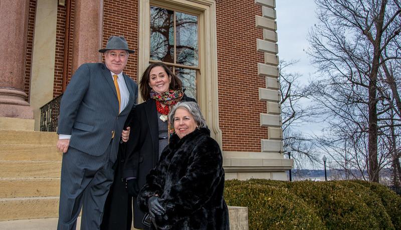 Governor's Mansion Steps