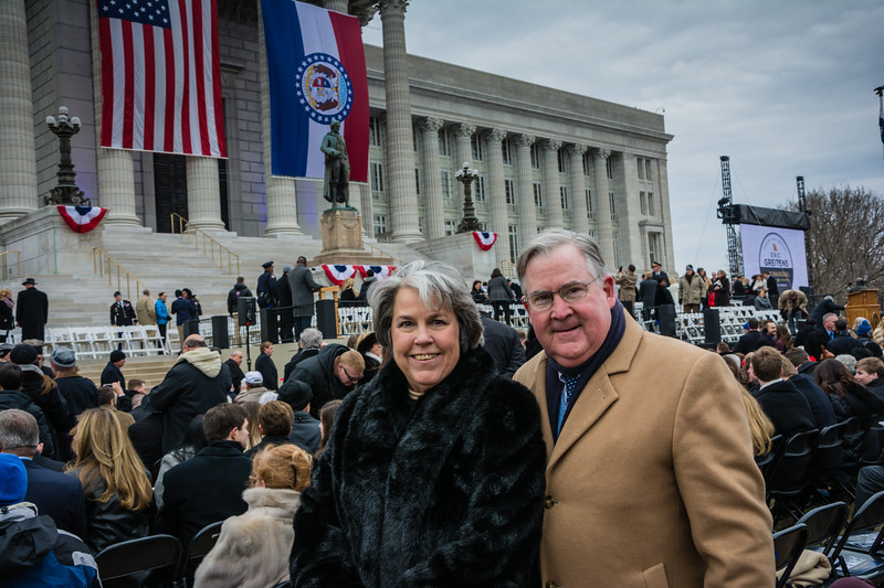 Governors Inauguration at Missouri Capitol