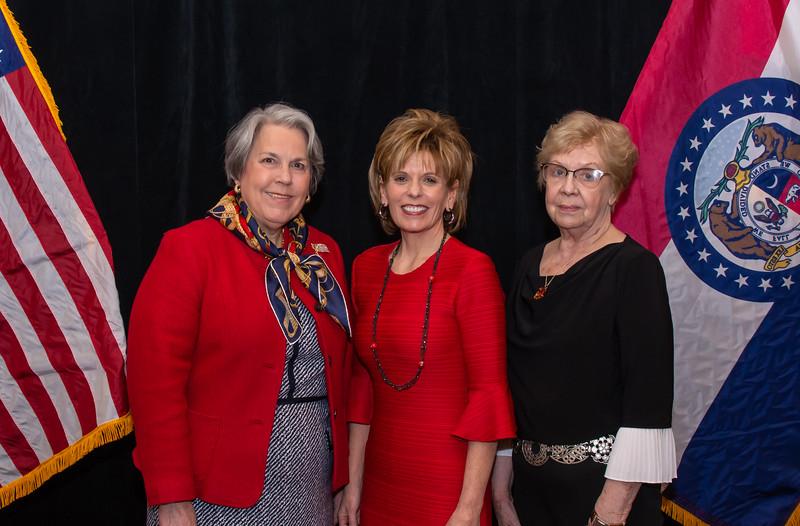 Mary Beth Engler, Susie Eckelkamp, Mavis Busiek
