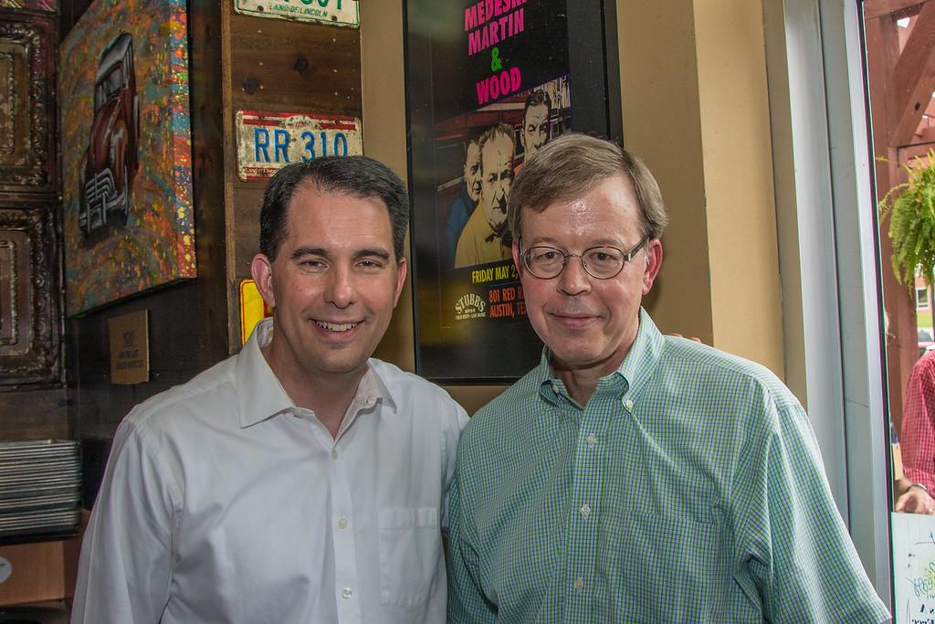 Scott Walker with Jim Talent