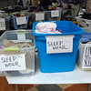 Kayla Rice/Reformer<br /> Items are organized for the St. Michael's Episcopal Church tag sale this weekend.