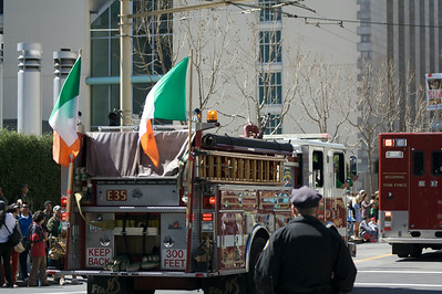 Everyone's irish: even the firefighters