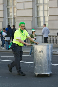 Everyone's irish: even the garbage-can-jugglers