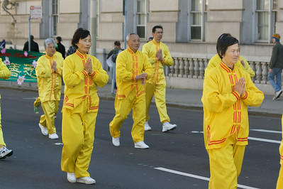Everyone's irish: including the Falun Dafa marching band