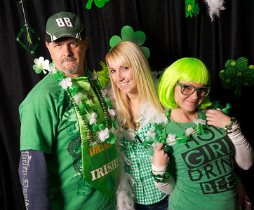 Mike, Melissa and Nikki of NKY at Mt Adams Pavilion for St. Patrick's Day