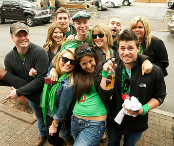 Things got a little crazy at Mt. Adams Pavilion for St. Patrick's Day