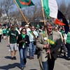 Record-Eagle/Keith King<br /> The St. Patrick's Day Parade travels Saturday, March 17, 2012 on Pine Street in Traverse City.