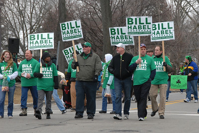 St. Patrick's Day Parade - Naperville, Illinois - March 16, 2013