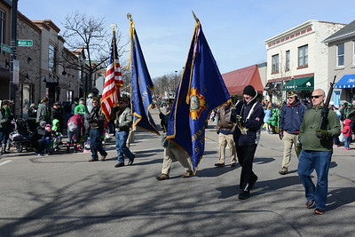 St. Patrick's Day Parade - Naperville, Illinois - March 11, 2017