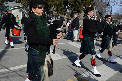 St. Patrick's Day Parade - Naperville, Illinois - March 15, 2014 - The Parade