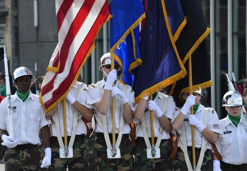 St Patrick's Day Parade, Milwaukee Wisconsin USA 2016