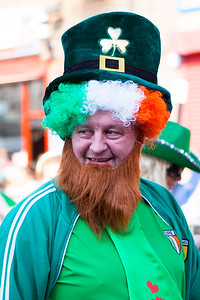 On parade during the Birmingham St. Patricks Festival Parade