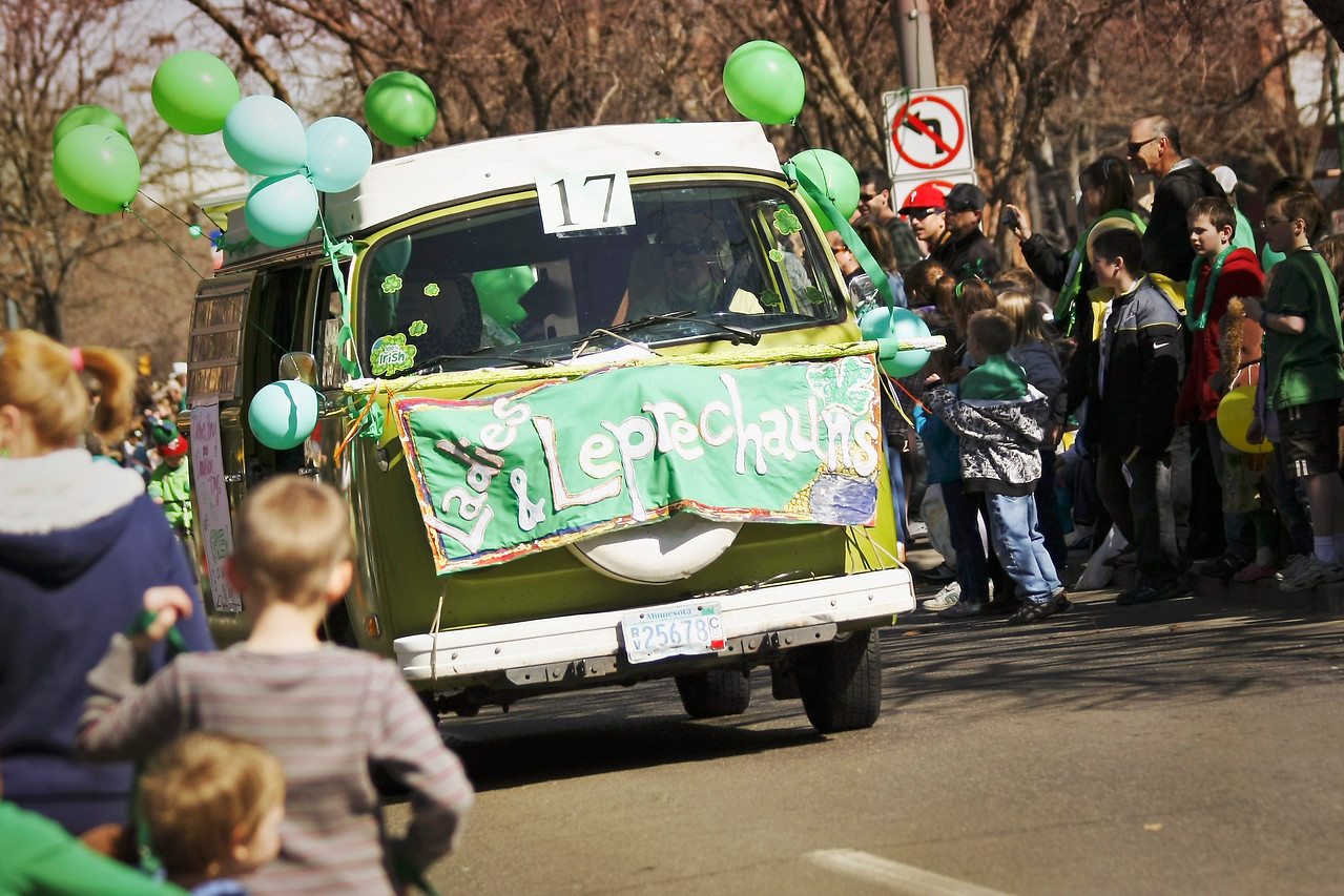 St. Patrick's Day Parade 2010<br /> Fort Collins, Colorado