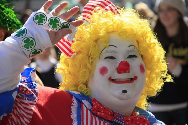St. Patty's Day Parade 2012 in Philadelphia,PA