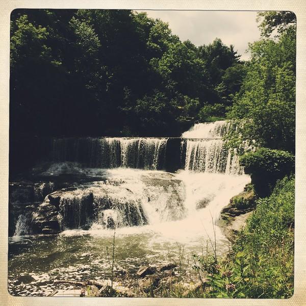 The obligatory photo of Seneca Falls