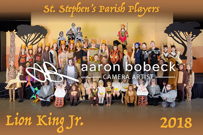 Parish Players - Lion King Jr.