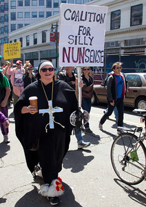 St. Stupids day parade, 4/1/2012, San Francisco