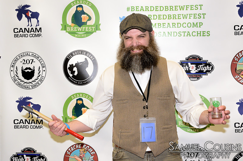 CanAm Moustache & Beard Competition 2016