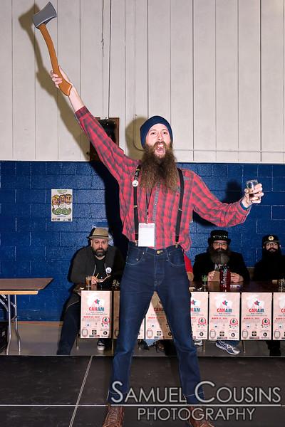 CanAm Moustache & Beard Competition 2016