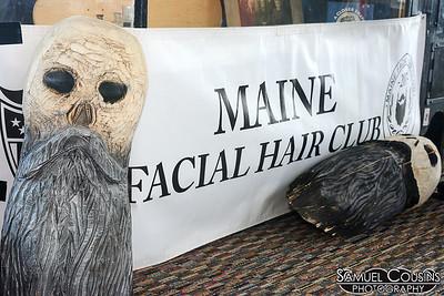 Maine Facial Hair Club at the Facial Hair Farmer's Market.