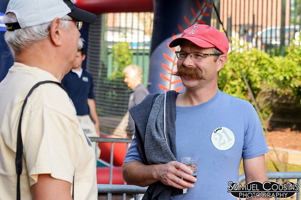 Summer Stache (& Facial Hair) Pag with the Sea Dogs.