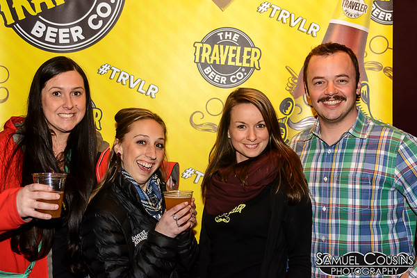 The gang from the Traveler Beer Company at Stache Pag opening reception.