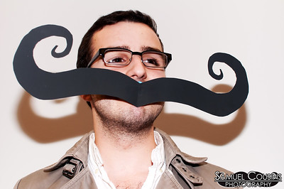 Stache Portraits on First Friday