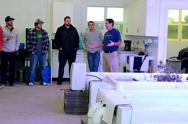 Staff visit to Aquaponics