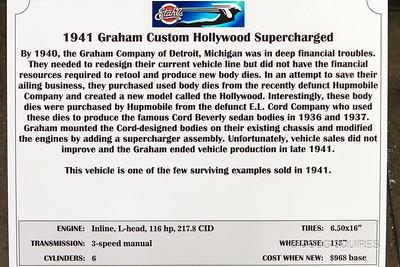 1941 Custom Hollywood Supercharged
