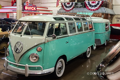 "1963 Type 2 ""23 Window"" Super Deluxe Microbus with Eriba Puck"