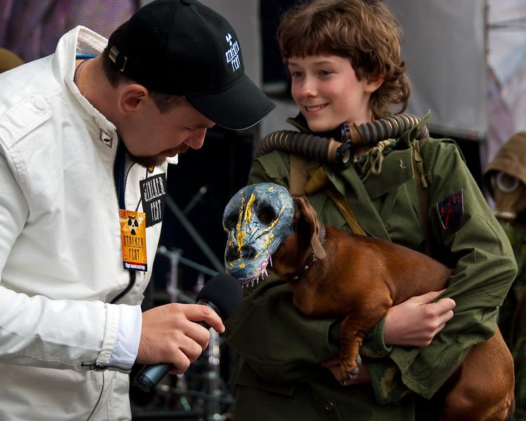 Undead dog on Stalker Fest 2009