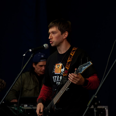 Oleg Yavorsky singing at Stalker Fest 2009