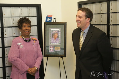 Stamp unveiling ceremony  Dorothy Height Feb 22 2017