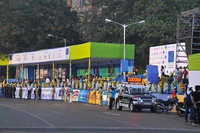 Standard Chartered Mumbai Marathon 2010. Mumbai, India. January 17, 2010.