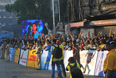 Standard Chartered Mumbai Marathon 2010. Mumbai, India. January 17, 2010.