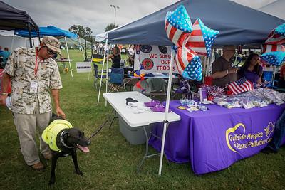 "Homeless Veteran's ""Stand Down"", One Community Now, Hudson Veteran's Memorial Park, 10 03-4 2015"