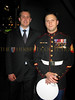 Jared Baker and Sgt. Nicholas Santoro from Philadelphia