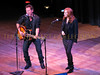 Bruce Springsteen and Patti Scialfa perform