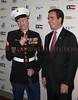 Marine Cpl Aaron Mankin and Bob Wodruff