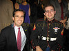 "Bob Woodruff and Retired Marine Steven Schulz( <a href=""http://www.helpsteven.com"">http://www.helpsteven.com</a>)"