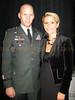 Lt. Cnl. Craig Osborne and Rene Bardorf