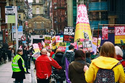Heading down West George Street