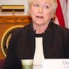 Chancellor Zimpher addresses state legislators and college presidents.