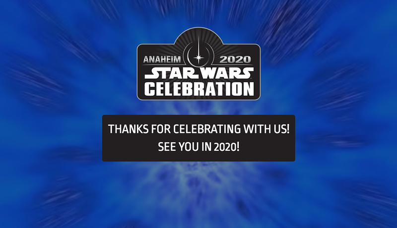 STAR WARS CELEBRATION 2020 is coming once more to Anaheim Convention Center!
